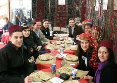 Optum Team orientalischer Mittag